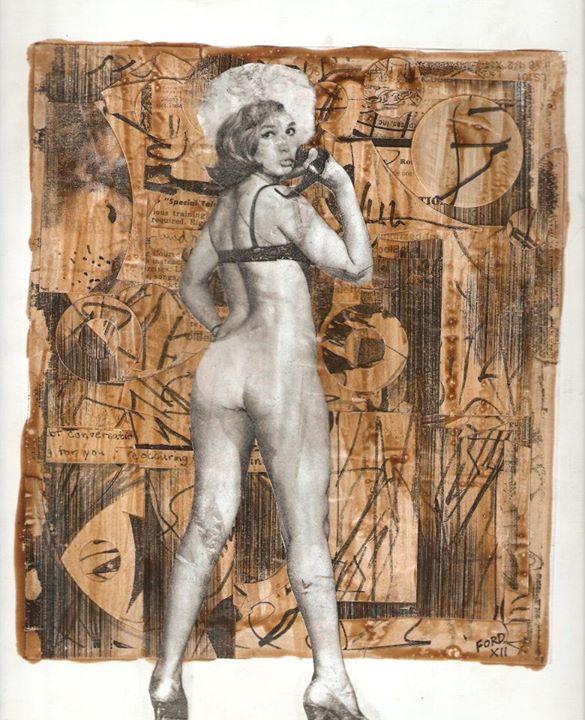 """the Art Critic, 2012 (9 1/2"""" x 11"""" $150)"""